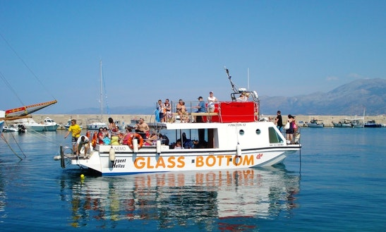 Enjoy Hersonissos, Crete On 46' Passenger Boat