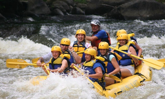 Feel The Adrenaline Rush On Whitewater Rafting Trips In Kočevje, Slovenia