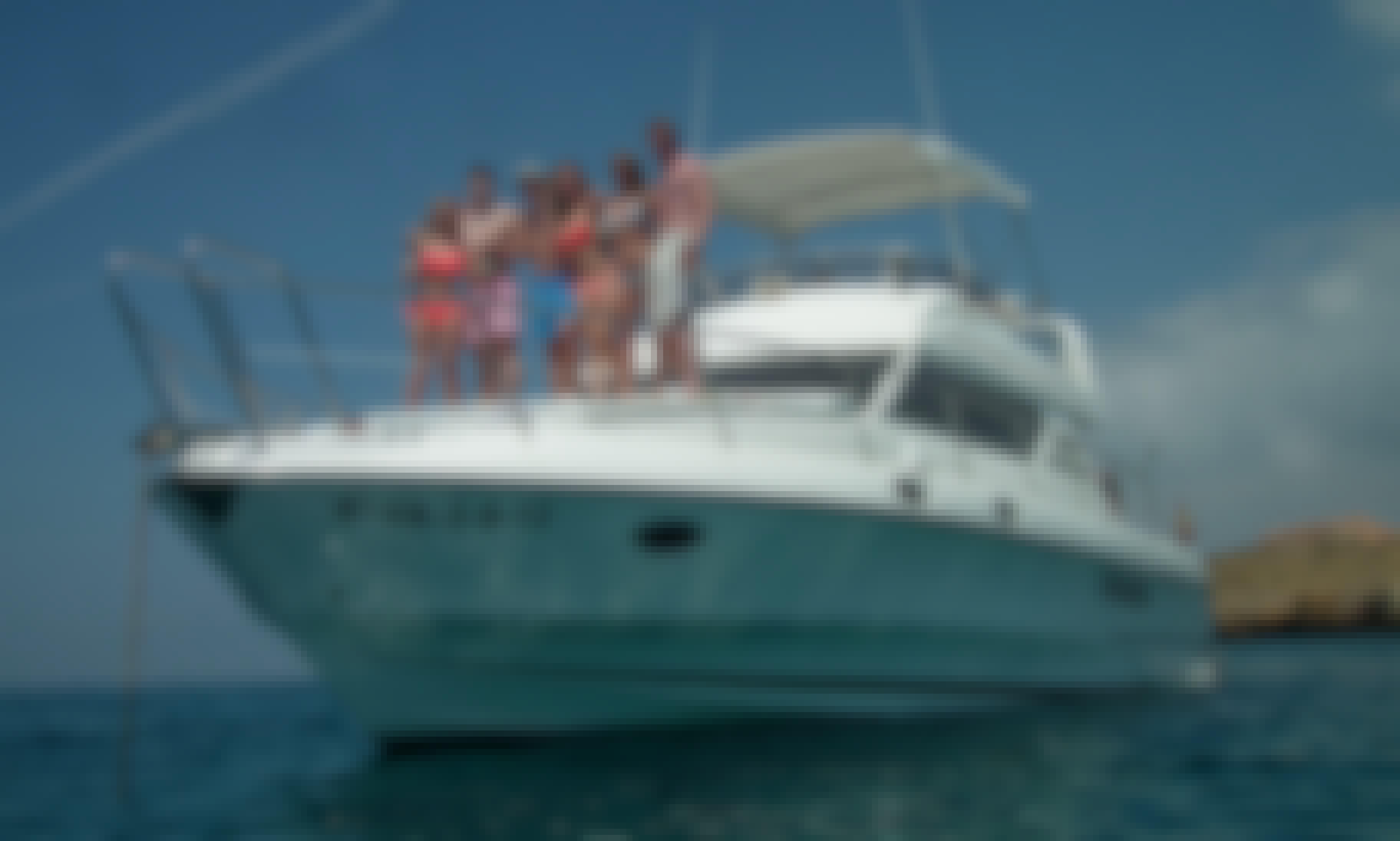 48' Birchwood Motor Yacht Rental in Alacant, Spain