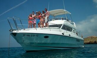 48' Birchwood Motor Yacht Rental in Alicante, Spain