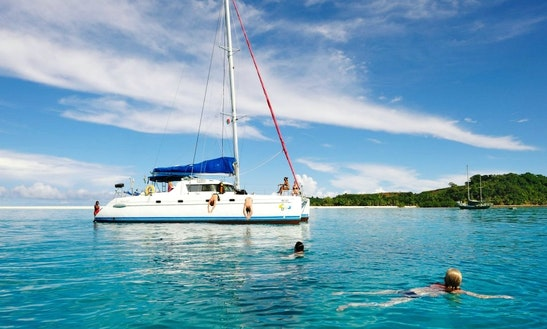 Charter 43' Cruising Catamran In Ambatoloaka, Nosy Be