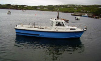 Enjoy Sightseeing in County Donegal, Ireland on 31' Caoimhe Star boat