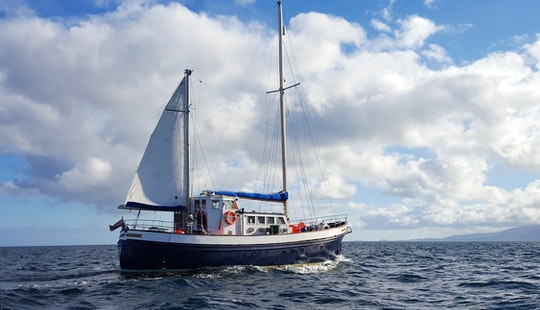 Small Ship Cruises Aboard 54ft