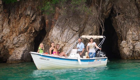 Make Your Vacation Unforgettable In Ipsos, Greece On Center Console Boat Rental