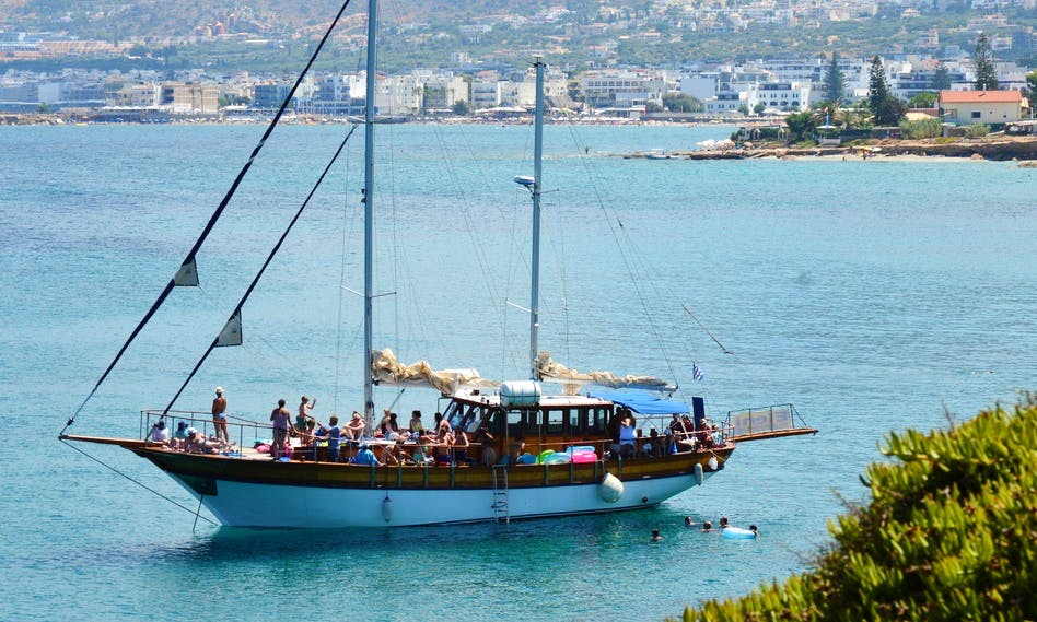 66' Sailing Gulet on Hersonissos Port, Kreta
