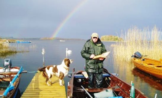 Enjoy Fishing In Oughterard, County Galway On 19' Dinghy