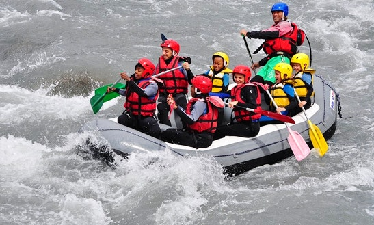 Enjoy Rafting Courses On Ubaye River In Le Lauzet-ubaye, France