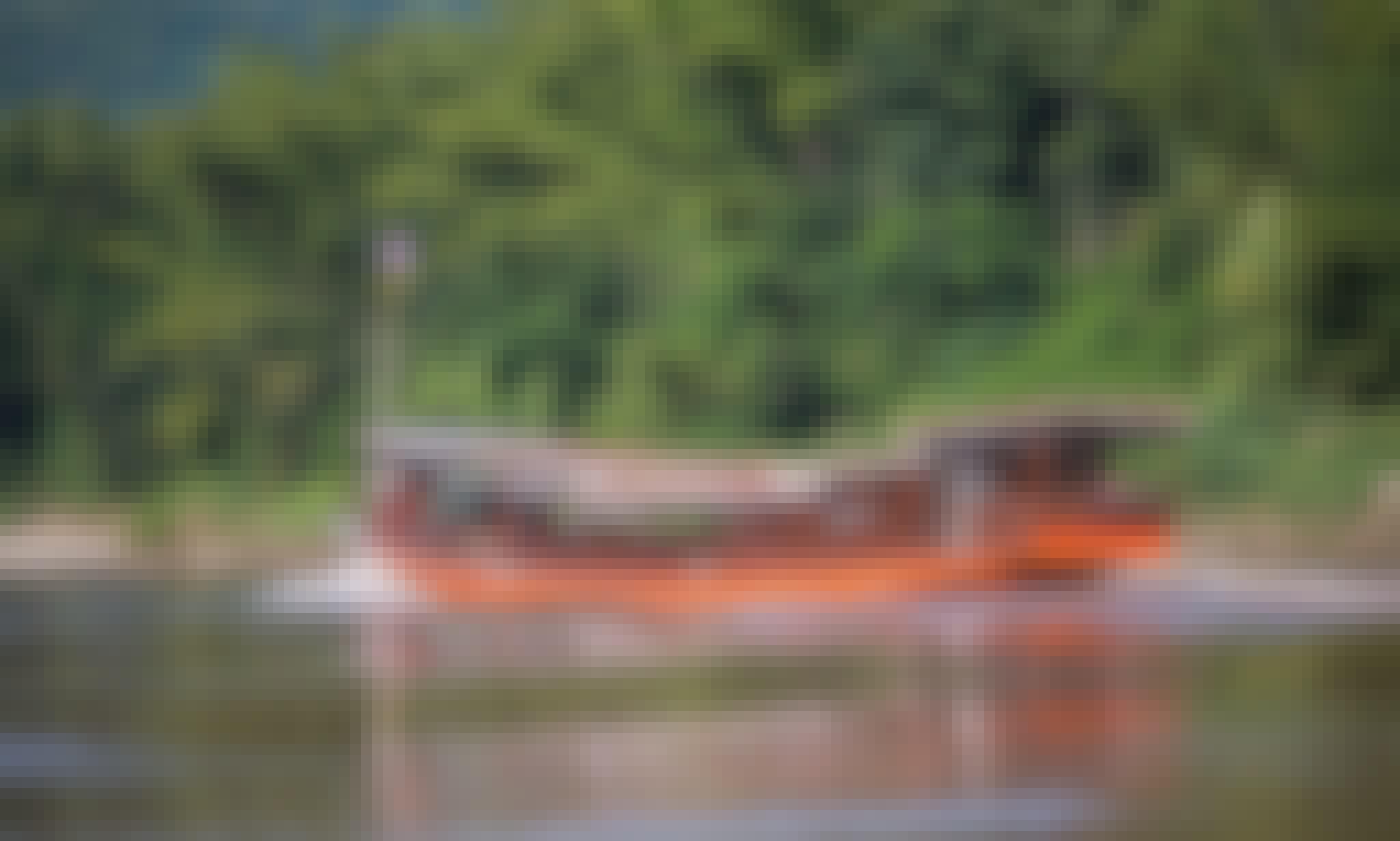 Enjoy Mekong River Cruises in Hanoi, Vietnam on 112' Canal Boat