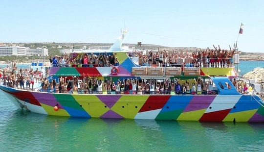 Enjoy Cruising In Ayia Napa, Ammochostos On Party Boat
