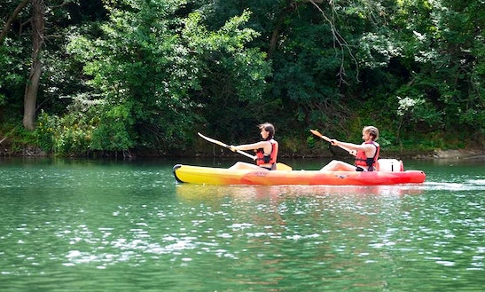 Exciting Double Kayak Rental In Saint-guilhem-le-désert, Occitanie