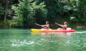 Exciting Double Kayak Rental in Saint-Guilhem-le-Désert, Occitanie