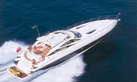 Charter 68' Sunseeker Predator Power Mega Yacht In Miami Beach, Florida