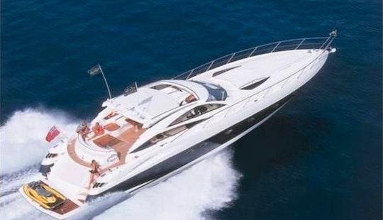 Charter 68' Sunseeker Predator Power Mega Yacht In Miami Beach, Florida