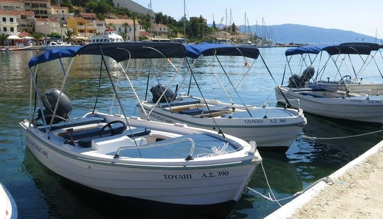 Rent A Bowrider Boat And Cruise In Agia Effimia, Greece