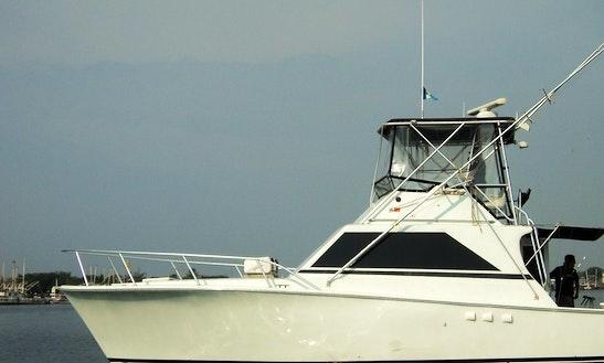 55ft Motor Yacht Fishing Boat Charter In Venice, Louisiana