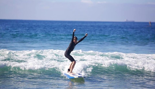 Surf Lessons In Southern California - Multiple Cities