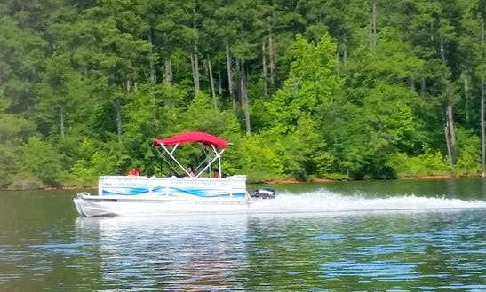 Enjoy Wake Forest On Crest Pontoon Boat