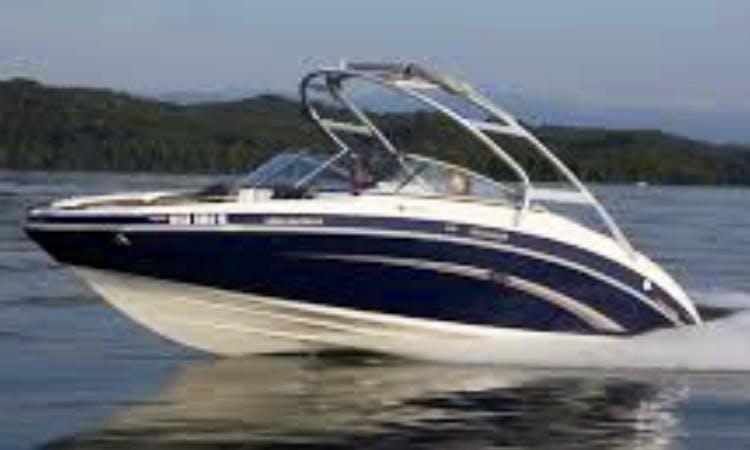 Boat Rental on Lake Allatoona in Georgia