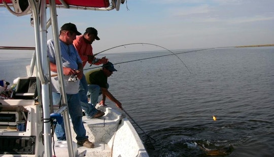 Guided Fishing Trip Captain Jack In Delacroix, Louisiana