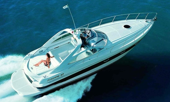 Pershing 37 Yacht Charter Rental On The French Riviera