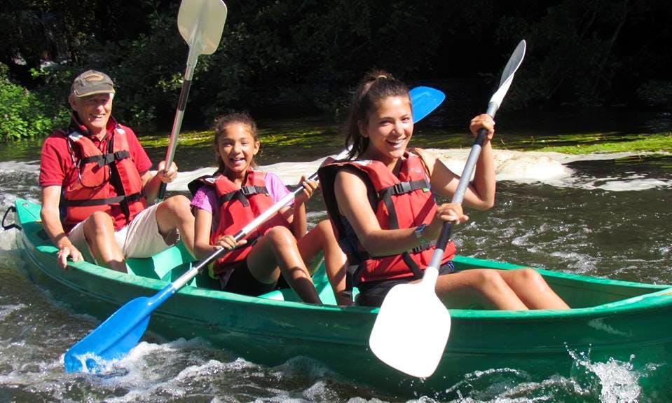 Enjoy Canoe Rentals in Condac, France