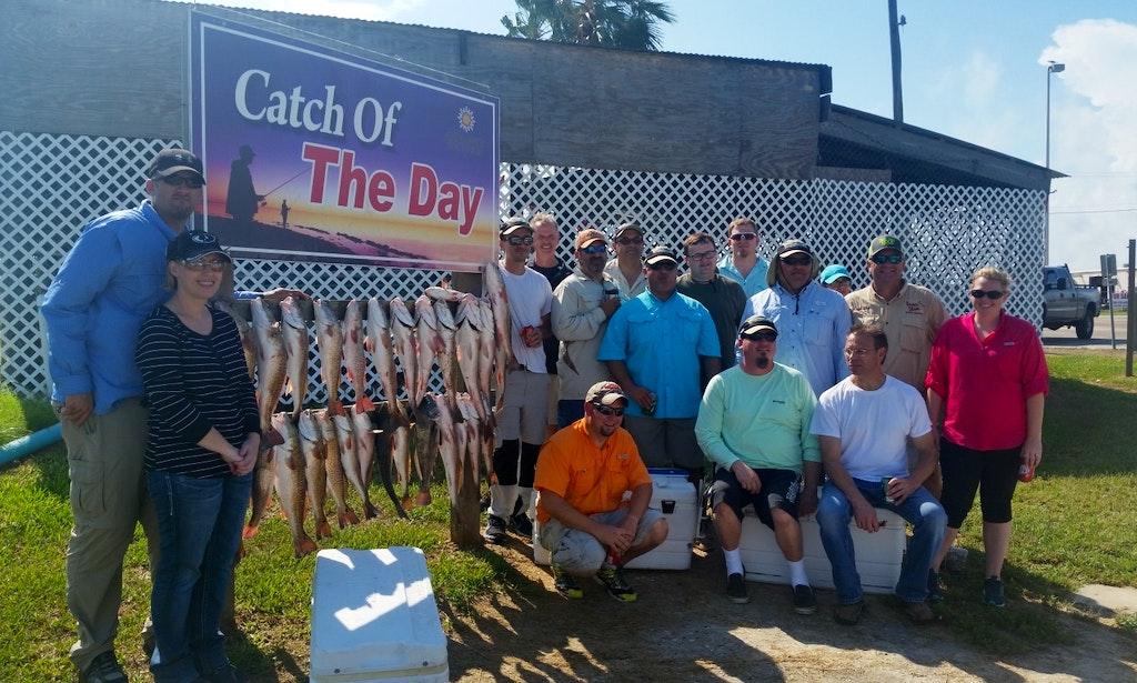 Bay fishing trip with captain jack in aransas pass texas for Aransas pass fishing