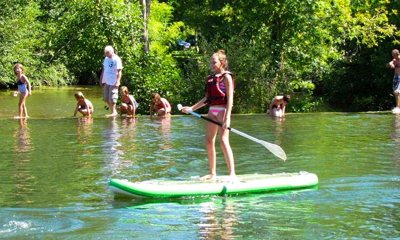 Enjoy Stand Up Paddleboard Rentals in Ruffec, France