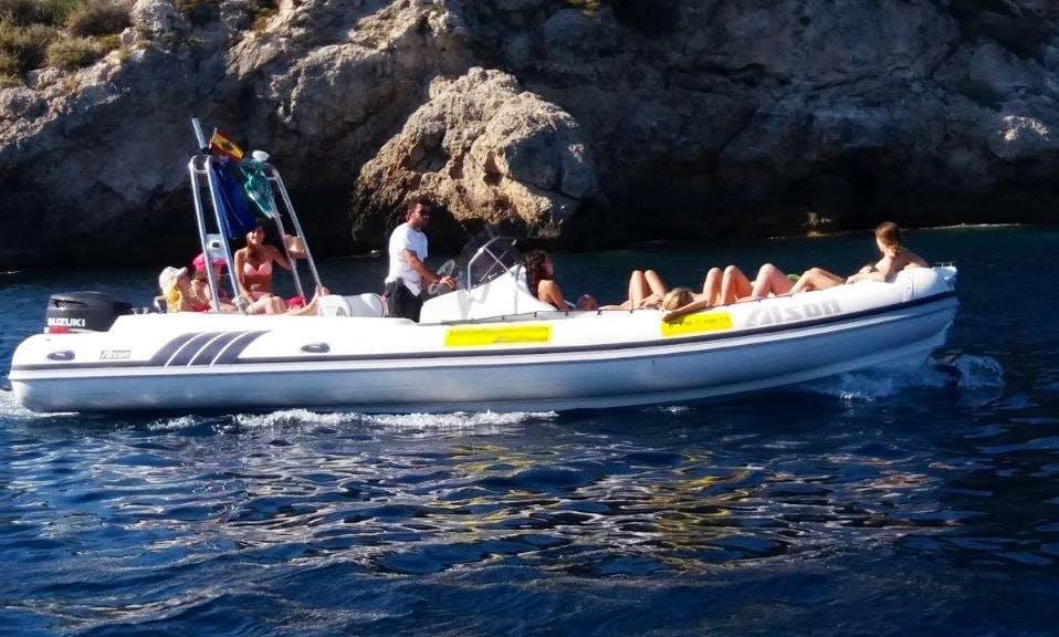 Rent this 25' Alson 750 Flash RIB in Palma, Spain