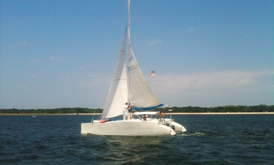 Cruising Catamaran Rental In Jacksonville
