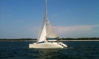 30' Kurt Hughes Cruising Catamaran rental in Fernandina Beach, Florida