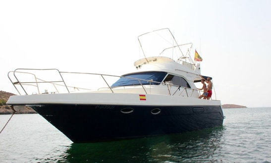 11.5 Astinor Flybridge Rental La Manga, Murcia. Spain