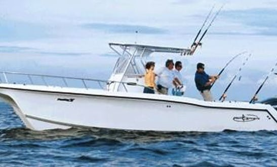 Center Console Rental For Deep Sea Fishing In Malay, Philippines