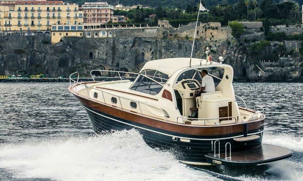 Explore Sorrento, Italy with this Apremare 38 Comfort Diamond Yacht