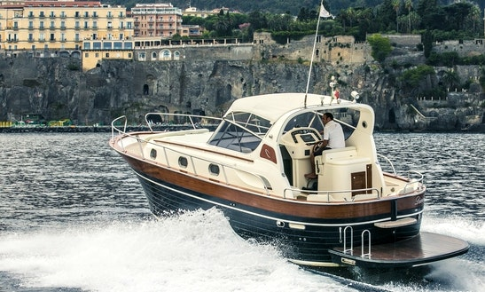 Explore Sorrento, Italy With This Apremare 38 Comfort Diamond Yacht