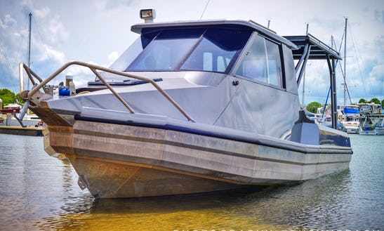 7.5m Stabicraft W/ 225hp Yamaha Outboard Available For Hire