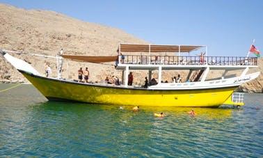 Enjoy Musandam Dibba, Dubai on Dhow Cruise