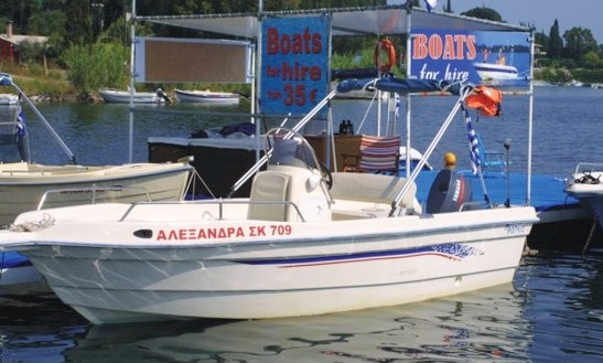 Rent 20' Center Console In Limni, Greece
