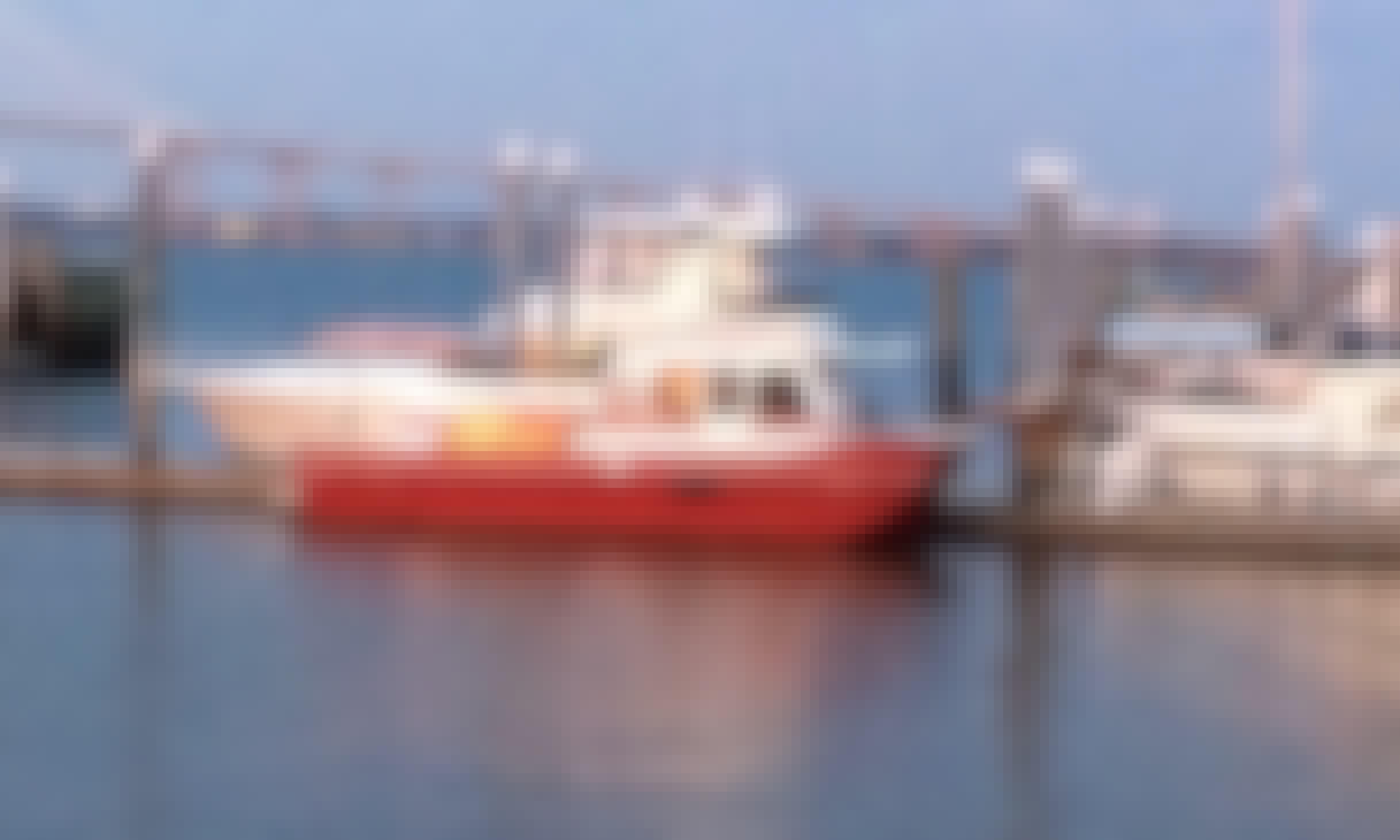 Charter 38' Holiday Mansion Houseboat In Charleston, South Carolina