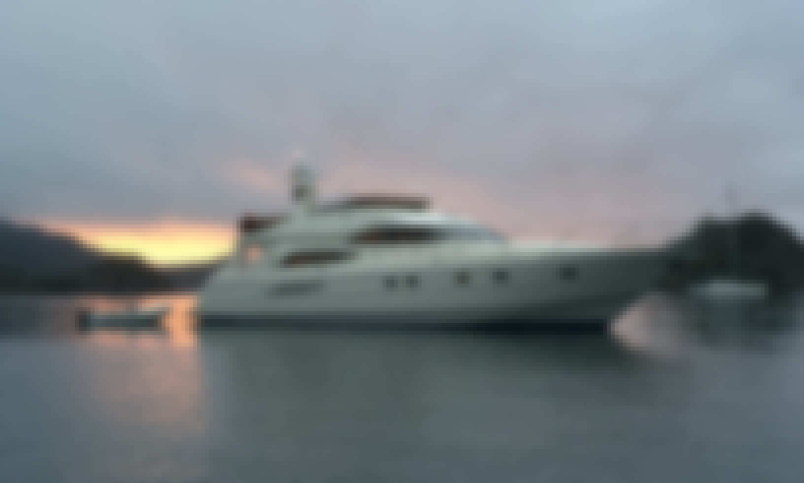 Motor Yacht rental in the Pacific Islands