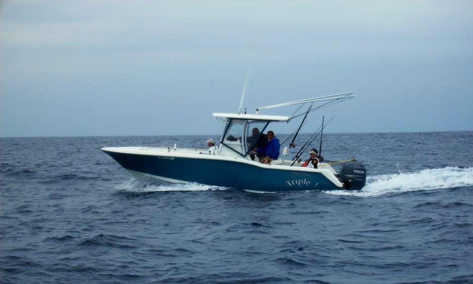 """Enjoy """"Triple J"""" 25' Tidewater Inshore Fishing Charter in Wanchese, NC"""
