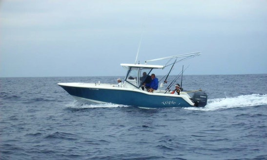 "Enjoy ""triple J"" 25' Tidewater Inshore Fishing Charter In Wanchese, Nc"