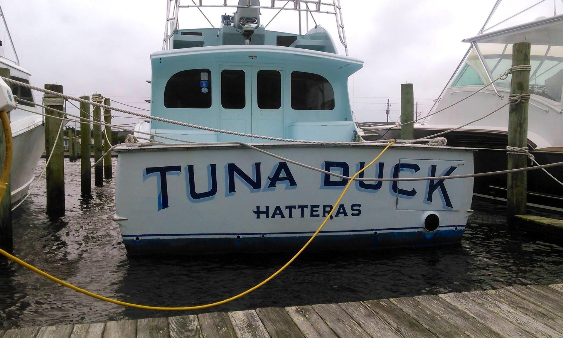 "Enjoy 50ft Custom Sportfisherman ""Tuna Duck"" Fishing Charter in Hatteras, North Carolina"