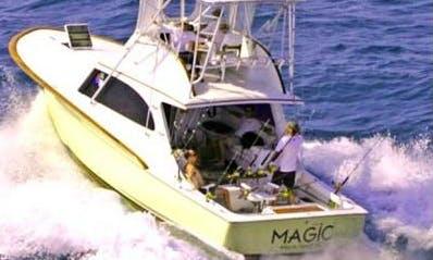 Fishing Charter On 37' Yacht In Atlantic Beach, North Carolina