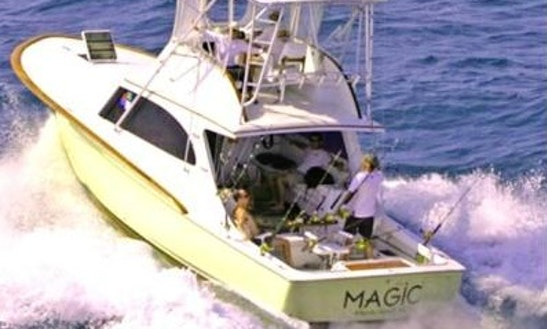 Fishing Charter On 37' Yacht In Atlantic Beach, North Carolina