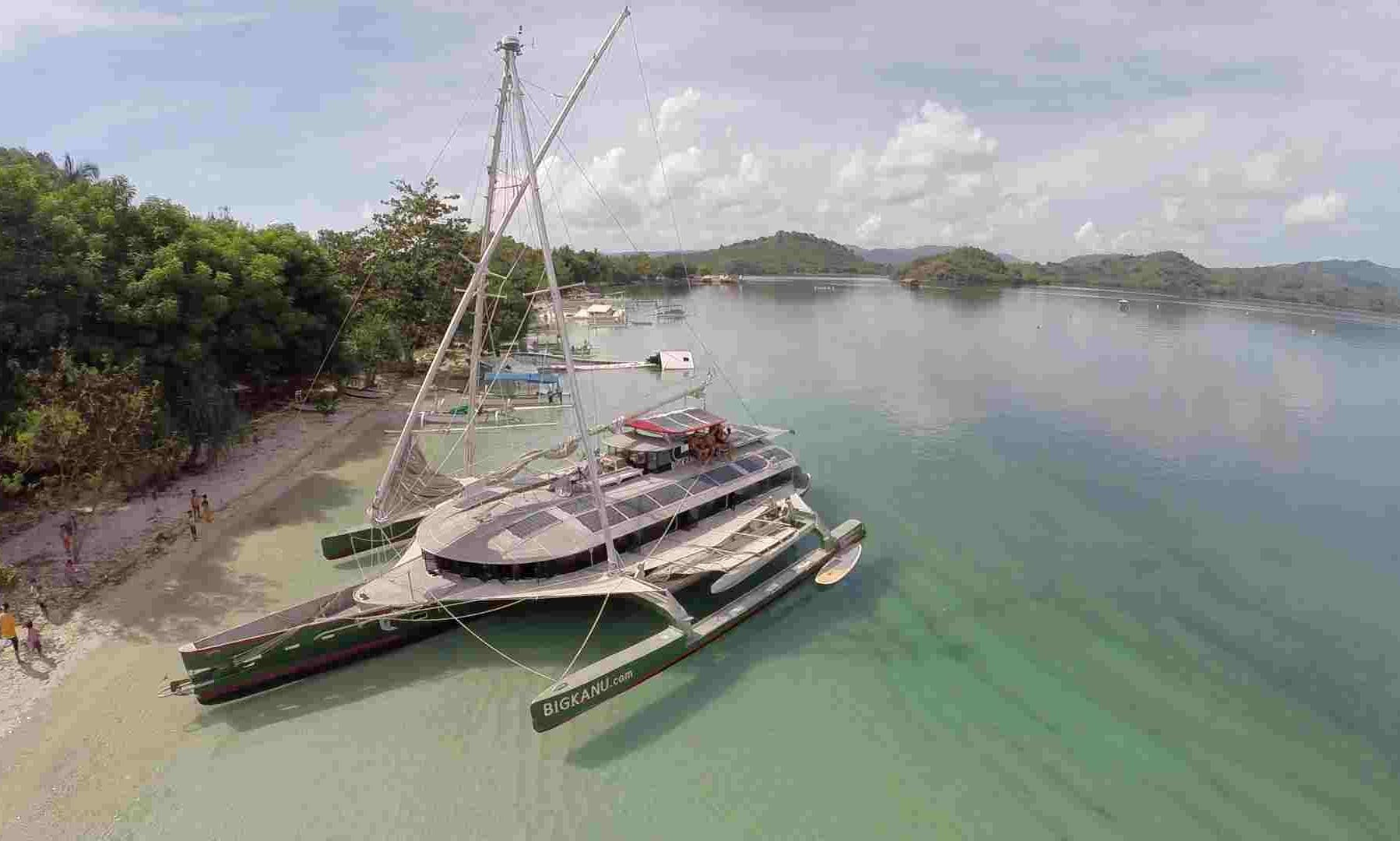 Cruising Catamaran rental in Bali, Gilis and Lombok
