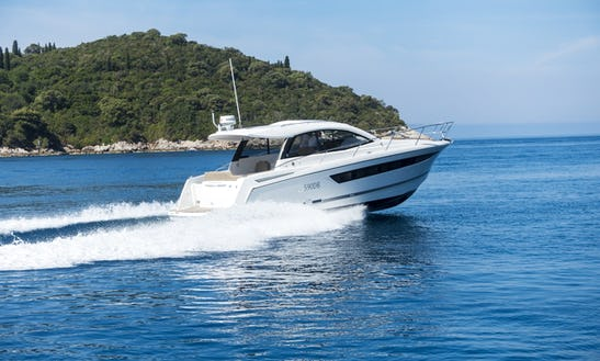 8 Person Charter On A Jeanneau Leader 10 In Dubrovnik