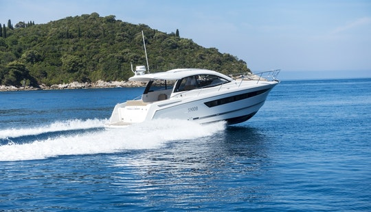 8 Person Charter On A Jeanneau Leader 10 In Dubrovnik And Cruise