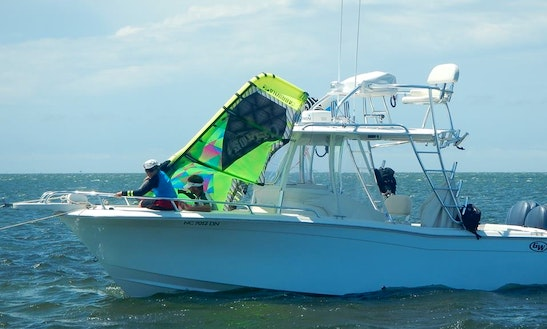 Kiteboarding Yacht Charter In Hatteras, North Carolina