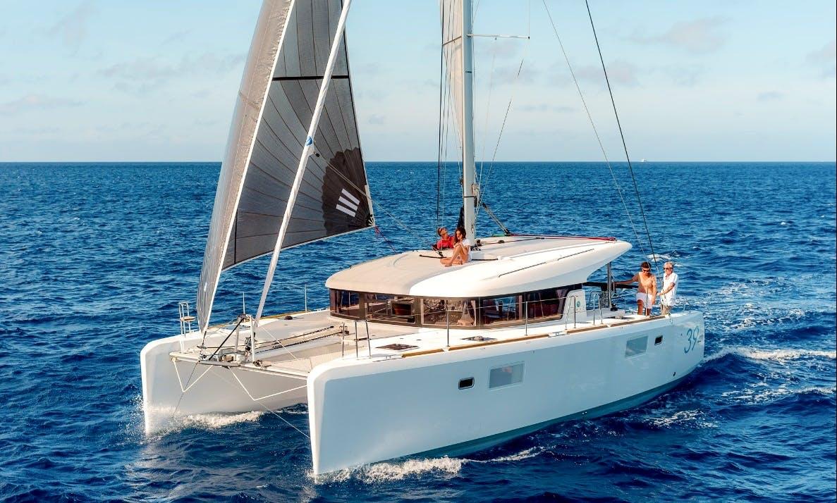 Charter 39' Cruising Catamaran in Lefkada, Greece