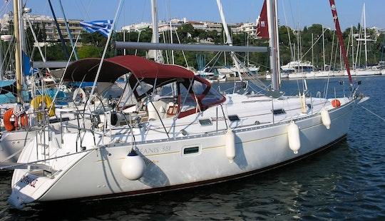 Charter 38' Beneteau Oceanis Cruising Monohull In Corfu, Greece